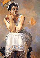 Pythia, 1917, malczewski