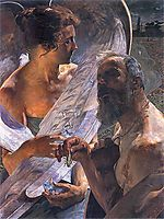 The resurrection (immortality), malczewski