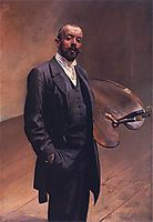 Self-portrait with a palette, malczewski