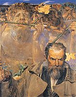 The story of a song (Portrait of Adam Asnyk), malczewski
