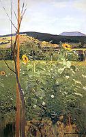 Sunflowers, malczewski