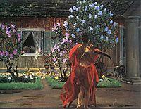 Thanatos, 1899, malczewski