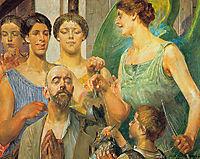 Tobiah and the Fates, malczewski