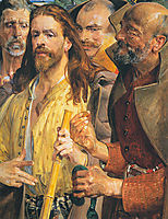 The Tribute Money(triptych) middle, malczewski