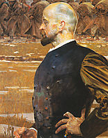 The Tribute Money(triptych) right, malczewski