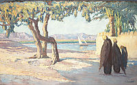 Nile Landscape, c.1911, maleas