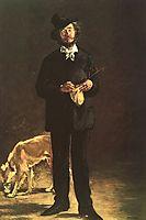 The Artist (Portrait of Gilbert Marcellin Desboutin), 1875, manet