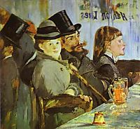 At the Café, 1878, manet