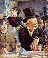 At the Cafe-Concert, c.1879, manet