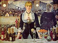 The Bar at the Folies Bergere, 1881 / 1882, manet