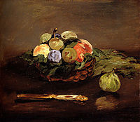 Basket of Fruits, c.1864, manet