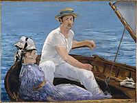 Boating, 1874, manet