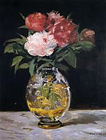 Bouquet of flowers, 1882, manet