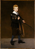 Boy Carrying a Sword, 1861, manet