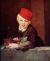 The Boy with Cherries, 1859, manet