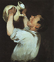 A boy with a pitcher, 1862, manet