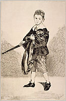 The Boy with a Sword, 1862, manet