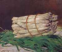 Bunch of Asparagus, 1880, manet