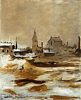 Effect of Snow at Petit-Montrouge, 1870, manet