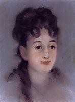 Eva Gonzales, 1878, manet