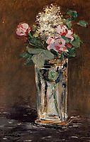 Flowers in a Crystal Vase, c.1882, manet
