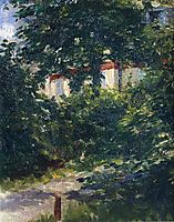 The garden around Manet-s house, manet