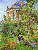 The Garden at Bellevue, manet