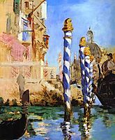 The Grand Canal, manet