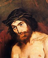 The head of Christ, c.1864, manet