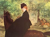 The Horsewoman, 1875, manet