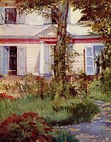 House in Rueil, 1882, manet