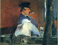 In the bar , c.1879, manet