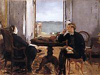 Interior at Arcachon, 1871, manet