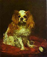 A King Charles Spanie, c.1866, manet