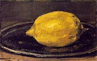 The Lemon, 1880, manet