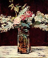 Lilac and roses, 1883, manet