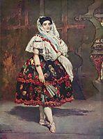 Lola de Valence, 1862, manet