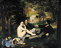 The Luncheon on the Grass, manet