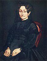 Madame Auguste Manet, c.1865, manet