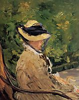 Madame Manet at Bellevue, manet