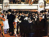 Masked Ball at the Opera, 1873, manet