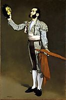 Matador bowing, 1866/1867, manet