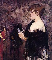 The Milliner, 1881, manet