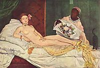Olympia, 1863, manet