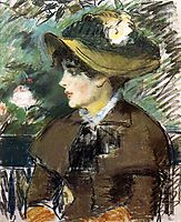 On the Bench, 1879, manet