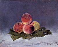 Peaches, 1882, manet