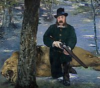 Pertuiset, Lion Hunter, manet