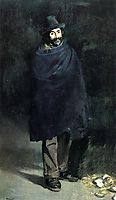 The Philosopher or Beggar with Oysters, 1864-1867, manet