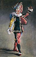 Polichinelle, 1873, manet