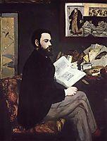 Portrait of Emile Zola, 1868, manet